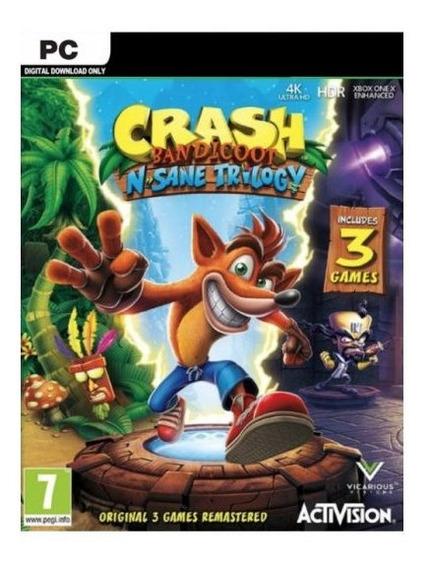 Crash Bandicoot N. Sane Trilogy Steam Pc Original
