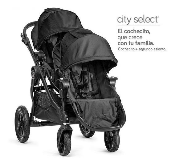 Cochecito De Bebé - Hermanos, Doble Asiento City Select