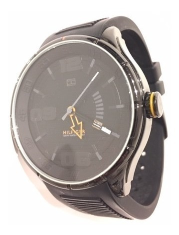 Relógio Tommy Hilfiger Original Masculino Pulseira Borracha