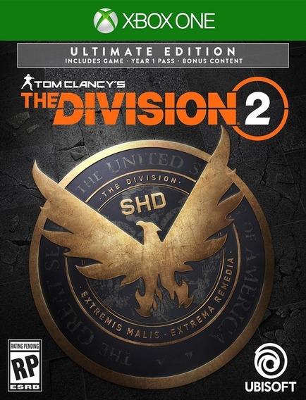 Tom Clancys The Division 2 Ultimate Xbox One - 25 Dígitos (envio Flash)