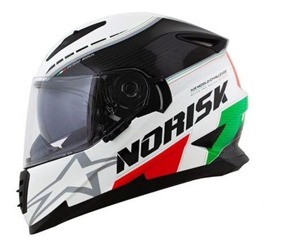 Capacete Masculino Fechado Norisk Ff302 Grand Prix Italy