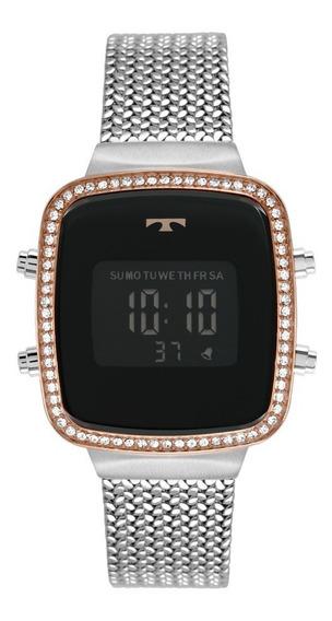 Relógio Technos Feminino Digital Bj3478ac/4p Misto Rose