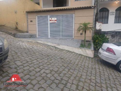 Casa Duplex C/ 2 Dormitórios No Condomínio Itibauba Cg/rj - Ca0135