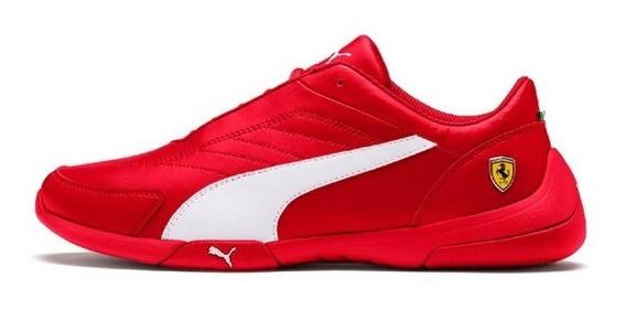 Tenis Puma Sf Ferrari Kart Cat Iii Jr Rojo 30642504