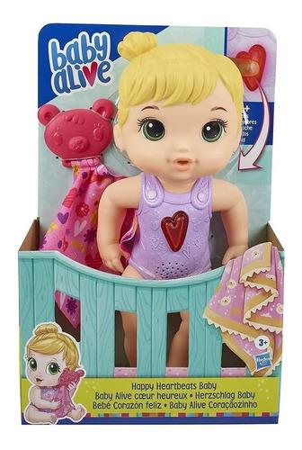Imagem 1 de 4 de Baby Alive Coracaozinho  E6946 Hasbro
