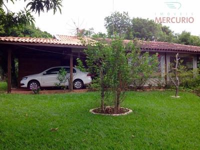Chácara Residencial À Venda, Vale Do Igapó, Bauru. - Ch0085