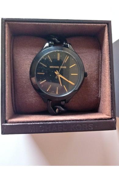 Relógio Michael Kors Mk33174mn Preto