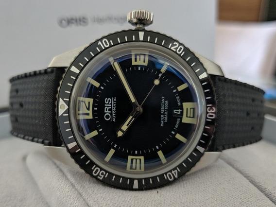Relógio Oris Divers 65 Sixty Five Heritage Completo