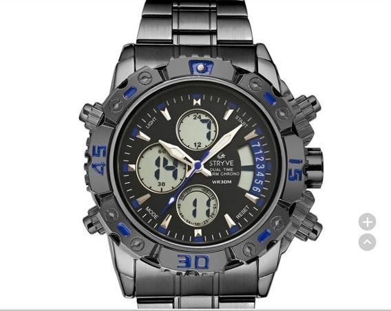 Relógio Stryve Casual Completo!
