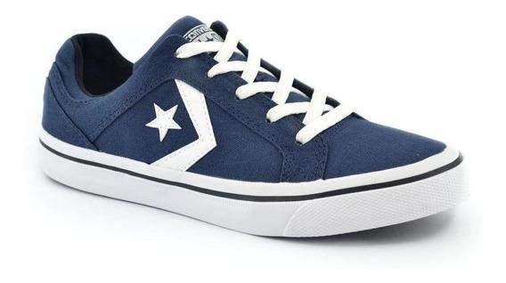 Zapatilla Converse Cons Distrito Ox Azul/blanco