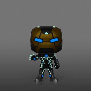 Funko Pop Iron Man 555 Model 39 Glow Exc Aaa Thor Avengers