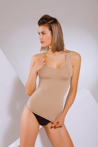 Musculosa Modeladora Bretel Ancho