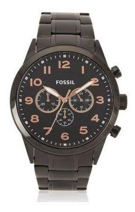 Fossil - Relógio Feminino Preto De Aço Inoxidável