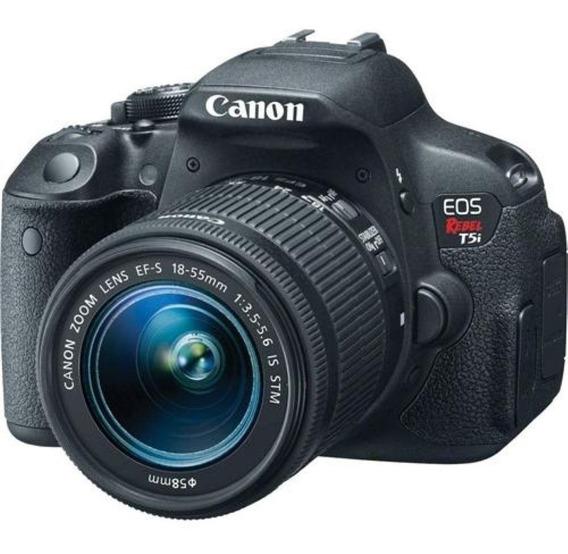 Canon Eos Rebel T5i + Lente 18-55mm (apenas 644 Cliques)