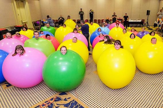 Globos Mega Gigantes 1.8m Latex Tilcoballoons Calidad Helio