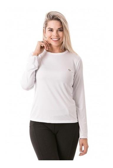 Camiseta Feminina Ice Line Com Proteção Solar Extreme Uv 50+