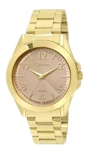 Relógio Condor Feminino Co2035ksi/k4t Dourado Lindo Barato