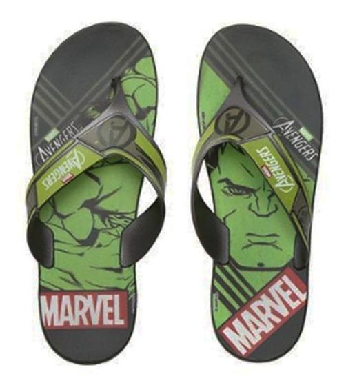 Chinelo Avengers Hulk Infantil Grendene 010873