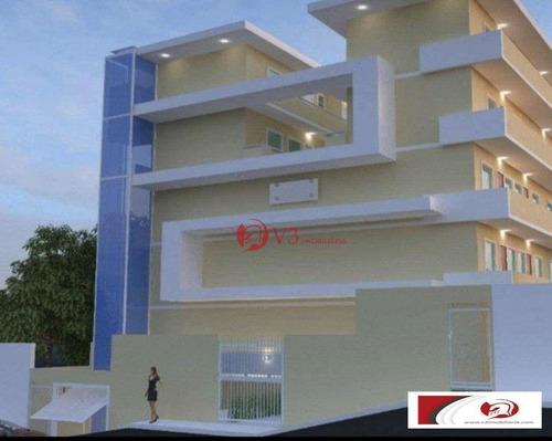 Imagem 1 de 12 de Kitnet Com 1 Dormitório Para Alugar, 32 M² Por R$ 1.200/mês - Vila Granada - São Paulo/sp - Kn0004