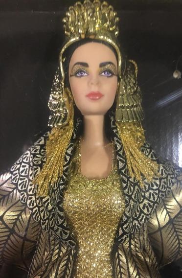 Barbie Collector Cleopatra Elizabeth Taylor No Brasil Mattel