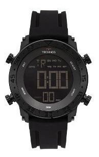 Relógio Technos Masculino Digital Preto Bjk006aa/4p Original