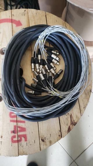 Subsnake / Multicabo De 12v Com 20m, Plugs Wireconex (usado)
