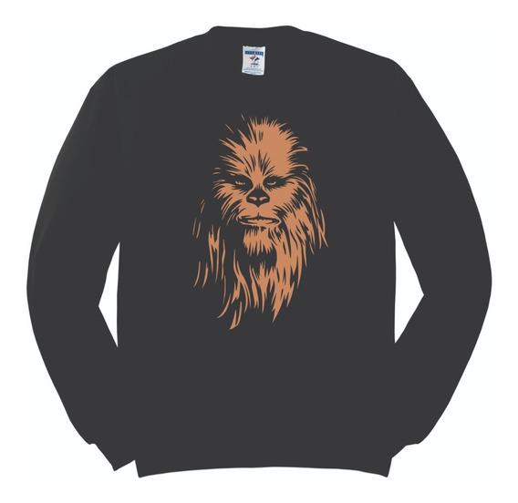 Sudadera Star Wars Chewbacca Rostro Hombre Mujer