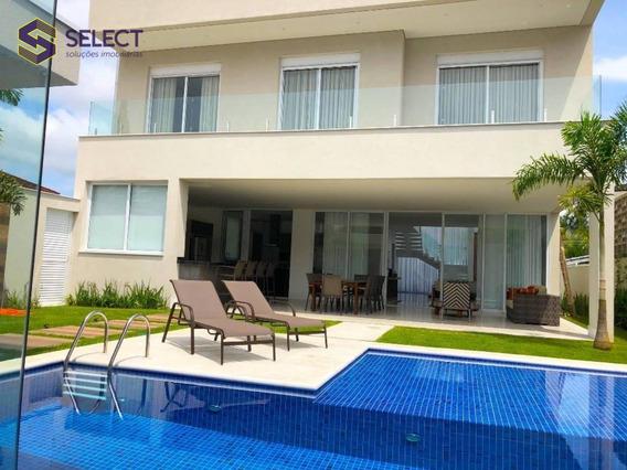 Nova Mansão No Guarujá, 5 Suítes , 420 M² Em Condomínio Fechado - Ca0023