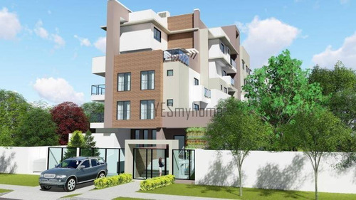 Apartamento Garden Com 66 M² De Terraço, 2 Quartos, Rua Calma - Água Verde - Gd0173