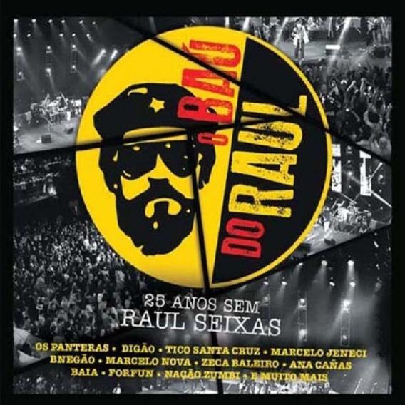 O Bau Do Raul 25 Anos Sem Raul Seixas - Cd Rock