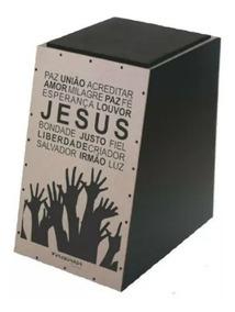Cajon Spanking Acústico Gospel Jesus