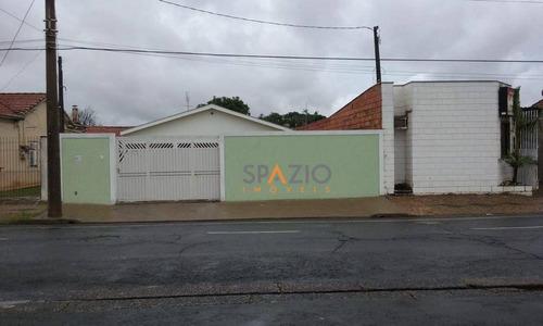 Imagem 1 de 19 de Casa Residencial À Venda, Vila Alemã, Rio Claro. - Ca0187
