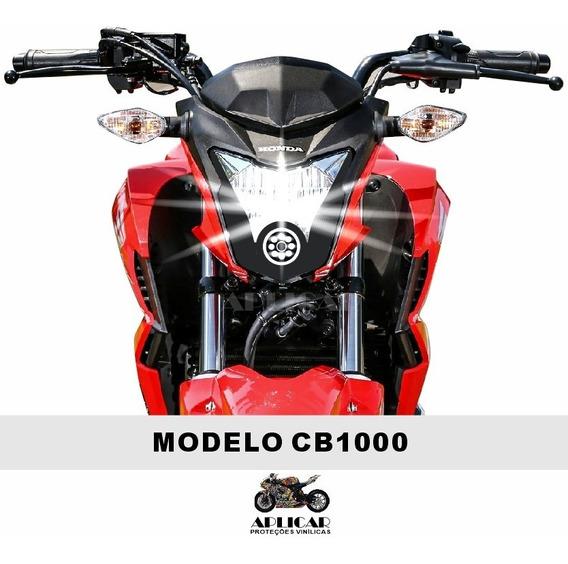 Adesivo - Máscara Farol Nova Cb Twister 250