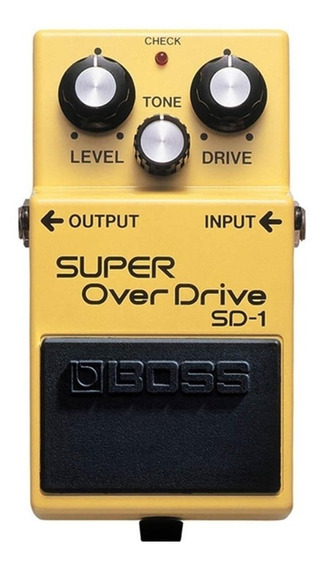 Pedal Boss Sd 1 Super Overdrive Sd1 - Original Nota Fiscal