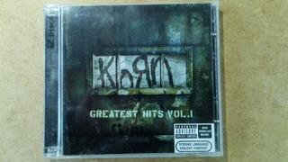 Korn Cd Original Greates Hits Vol 1 Con Bunus Dvd Rock