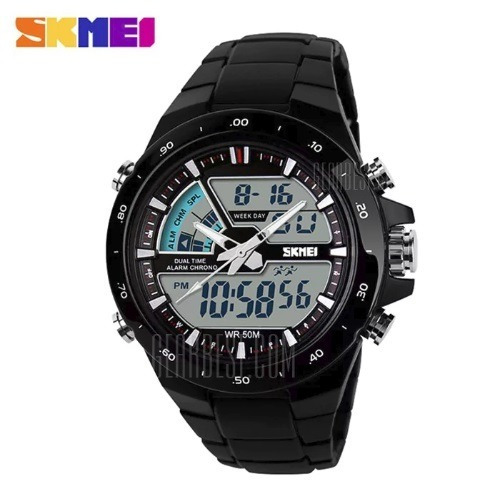 Relógio Skmei Original Modelo 1016 Preto Prova D