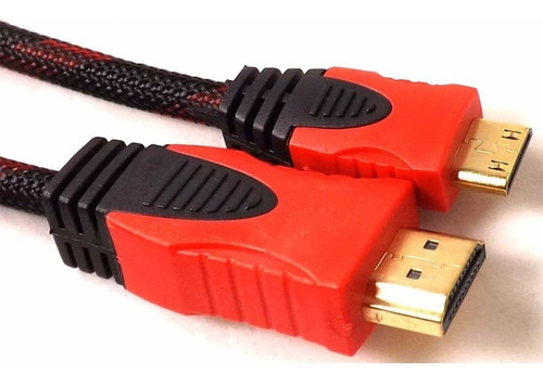 Imagen 1 de 1 de Nuevo Cable Hdmi A Mini Hdmi 1.5m Laptop Tv Tablet