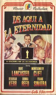 De Aqui A La Eternidad Vhs Burt Lancaster Frank Sinatra