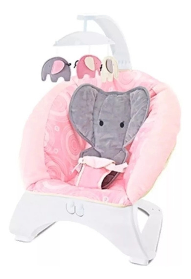 Silla Mecedora Bebe Elefante Zaki Juguetes Babymovil Full