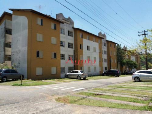 Apartamento Com 2 Dormitórios À Venda, 54 M² Por R$ 205.000,00 - Jardim Santo André - Santo André/sp - Ap1346