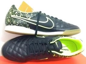 1ce6670556 Chuteira Nike Tiempo Genio Leather Ic Futsal - Chuteiras Nike de ...