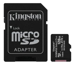 Memoria Micro Sd 128gb Clase 10 Kingston Canvas Select