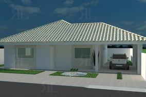 Projeto Casa Térrea 3q - Planta Completa