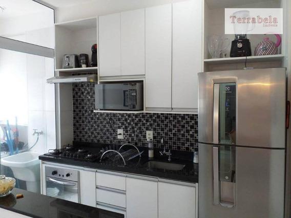 Apartamento Com 2 Dormitórios À Venda, 51 M² Por R$ 295.000,00 - Ortizes - Valinhos/sp - Ap0052