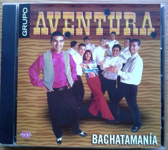 Cd Grupo Aventura Bachatamania Impecable Como Nuevo