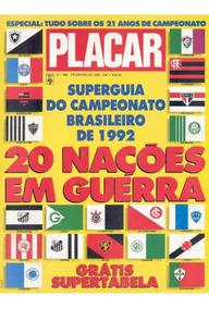Revista Digitalizada Placar Guia Brasileiro 1992 + 2 Álbuns