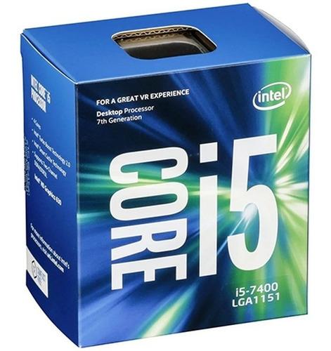 Processador Gamer Intel Core I5-7400 De 4 Núcleos E 3ghz
