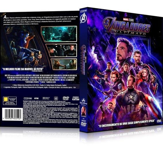 Dvd Vingadores Ultimato 2019 Oficial