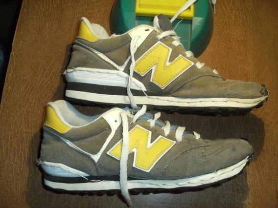 Zapatillas New Balance 1m1tacion Marron-amarillas T 39