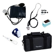 Kit Acadêmico Enfermagem Oximetro Premium Gtech